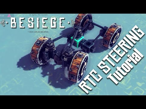 Tutorial - Simple Return-to-Center Steering | Fun with Besiege #43