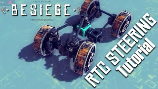 tutorial simple return to center steering   fun with besiege 43