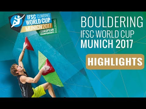IFSC Climbing World Cup Munich 2017 - Finals Highlights
