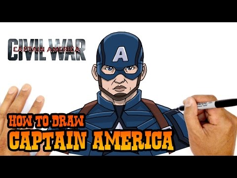 cbedc1f8 How to Draw Captain America | The Avengers - YouTube