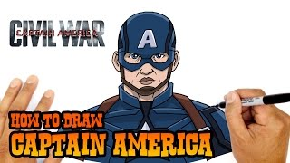 How to Draw Captain America | The Avengers