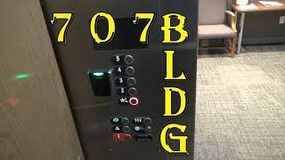 Modernized Otis Traction Elevators - The 707 Building - Roanoke, VA
