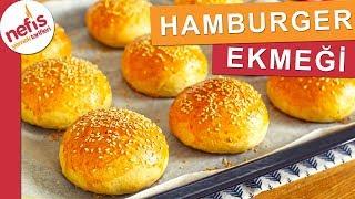Evde Hamburger Ekmeği Tarifi - Tüm Aşamaları ile 🍔