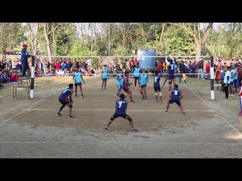 Kolhuwa Vs Ratwal Final Vollyball Match BY Singhnath Club Barauli