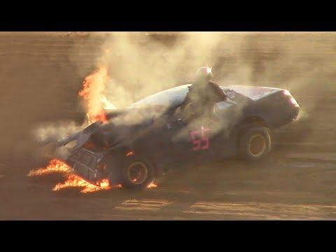 Pure Stock Heat Two | McKean County Raceway | 6-20-17
