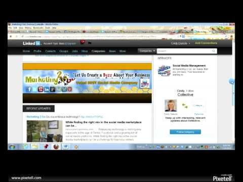how to add a business page on linkedin