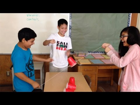Cup Stacking Team Building Activity