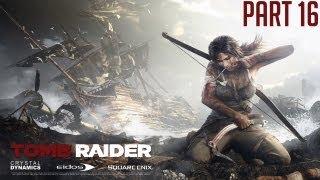 "Tomb Raider 2013 - Part 16 ""Research Base & Elevator Puzzle"" Walkthrough PC PS3 XBOX360 [HD][720p]"