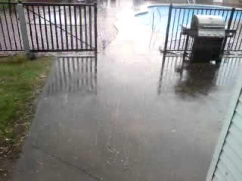 Hail Storm Saratoga NY 6/1/11 Weather