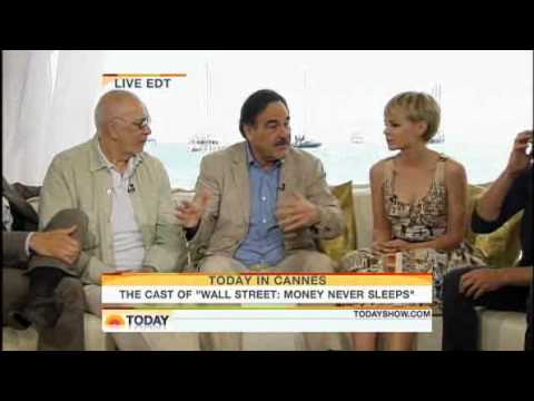 Cannes 2010 Wall Street Cast on TODAY Show Shia LaBeouf Carey Mulligan