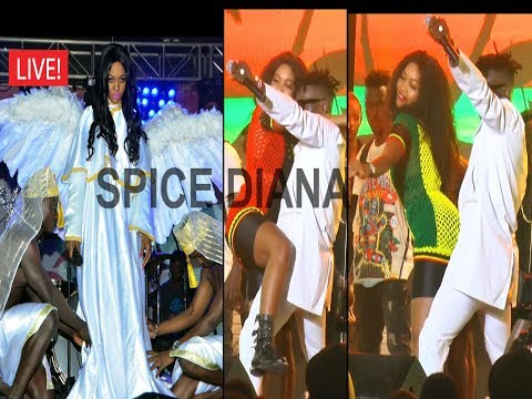 #WESANYUKIRE. Spice Diana performing live at freedom city.
