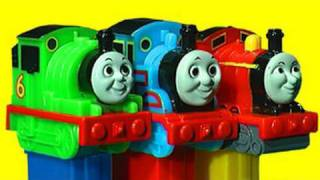 Thomas And Friends PEZ Collection