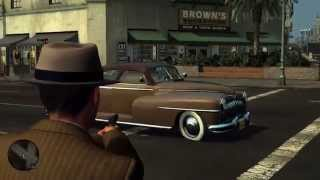 L.A. Noire Free Roam With Guns Tutorial (somedude1818)