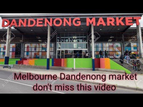 Super Big Dandenong Market In Melbourne 🌇🌇