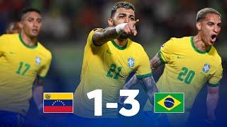 Венесуэла  1-3  Бразилия видео