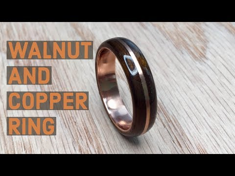 Creating A Walnut And Copper Bentwood Ring
