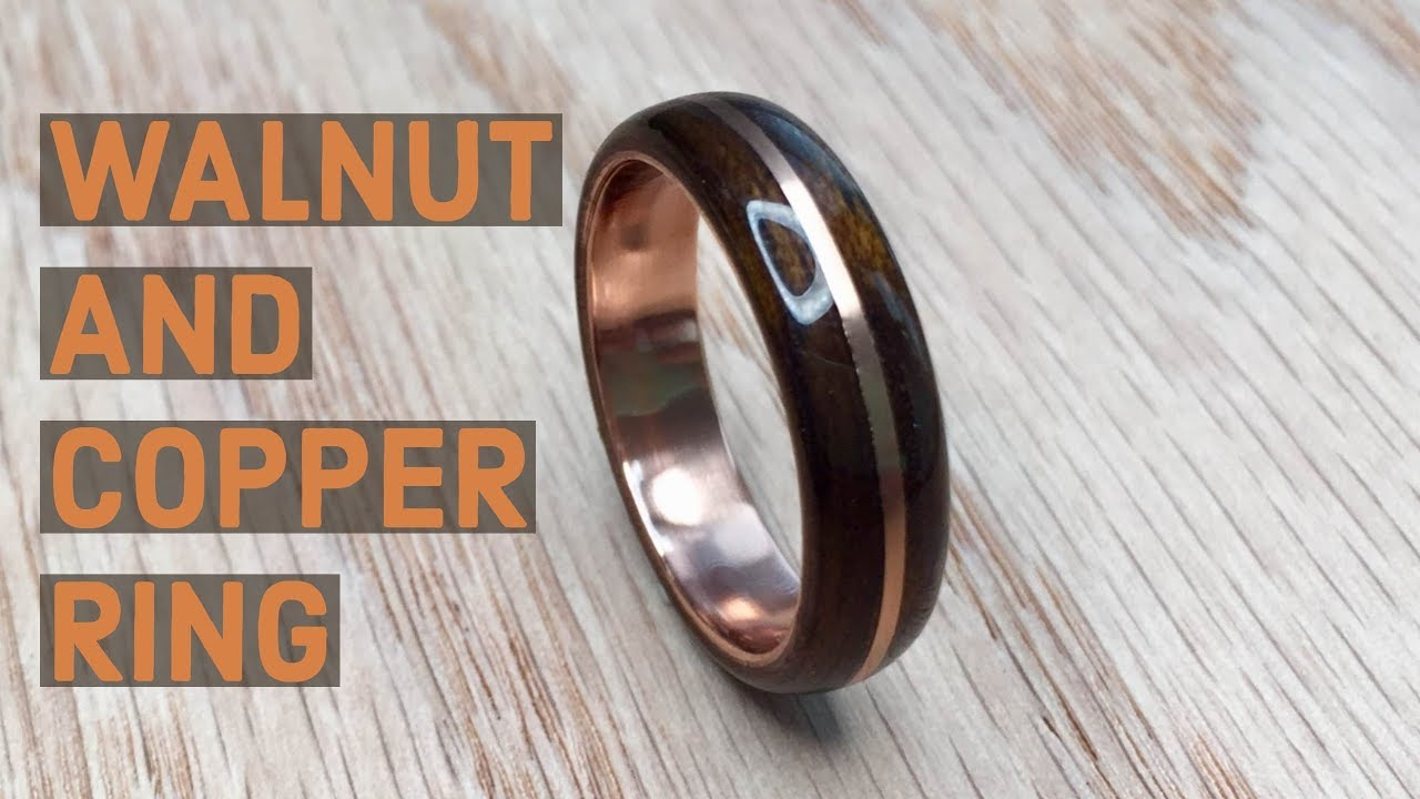 Creating A Walnut And Copper Bentwood Ring YouTube