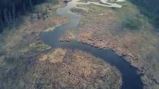 Річка Пазелинка (Іжевськ) - съекмка DJI Phantom FC40