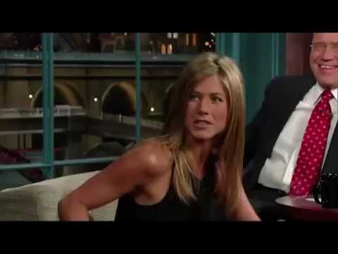 Jennifer Aniston   Letterman is Distracted By Her Legs   58 Appearances in order
