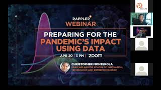 Preview of Rappler+ Webinar with Chris Monterola: Preparing for the pandemic's impact using data