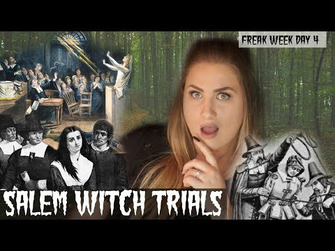The TRUTH About The SALEM WITCH TRIALS!