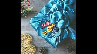 [디웨이] 센스있는 명절 선물 포장(선물/선물포장/보자기포장/포장방법/DIY)