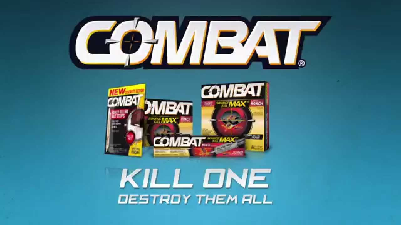 Use Combat Gels to Get Rid of Roaches - YouTube