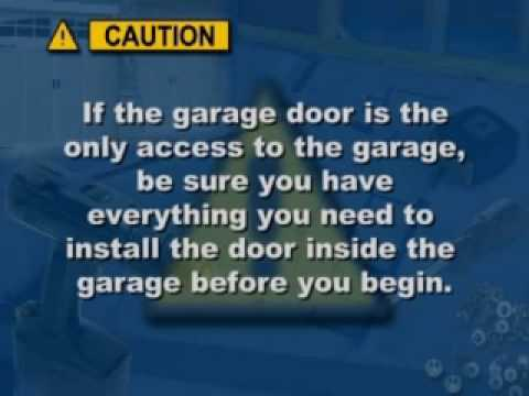 Residential Garage Door Installation / Maintenance - Clopay