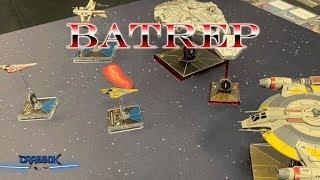X-Wing Batrep - Mace Anakin vs Han Assaj