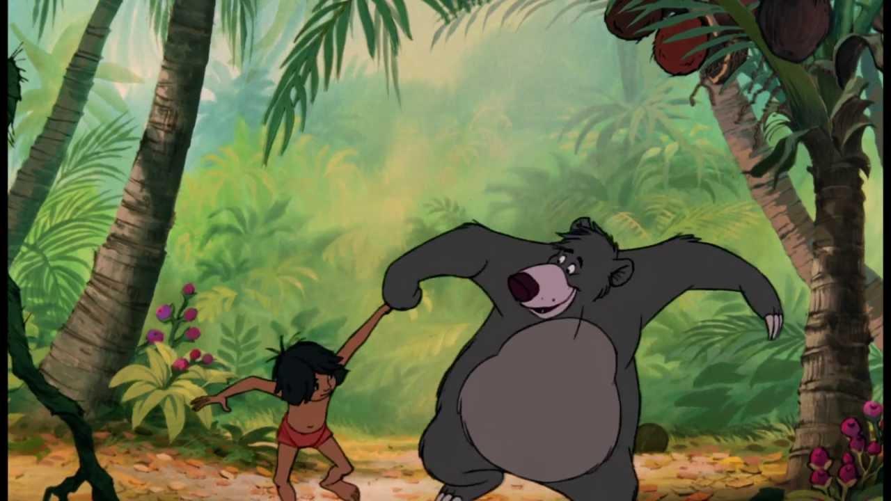 Le Livre De La Jungle Extrait Exclusif Chanson Il En Faut Peu Pour Etre Heureux Baloo