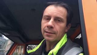 Aufräumarbeiten nach dem Hochwasser in Cochem