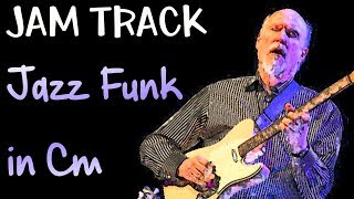 Jazz Funk Guitar Backing Track Dorian Jam in Cm
