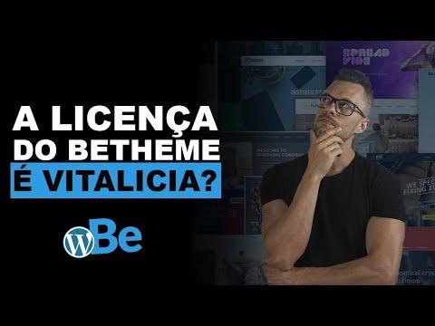 Será Que A Licença do Betheme é Vitalícia Mesmo?