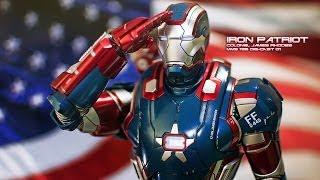 REVIEW : Hottoys Iron Patriot [Die-Cast]