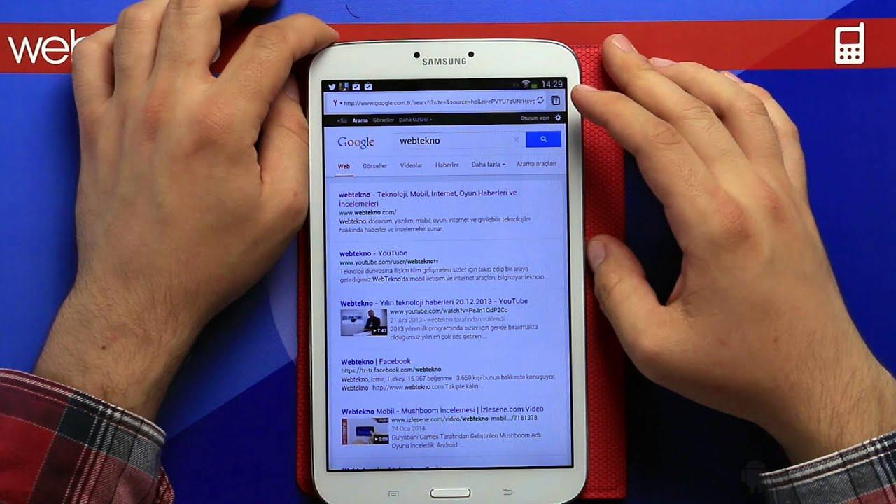 Türk Yapımı Android Tarayıcı: Tably Browser İnceleme