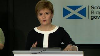 Nicola Sturgeon unveils Scottish exit strategy plans to lift coronavirus lockdown