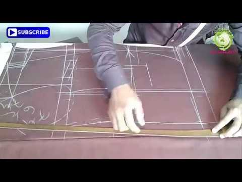 ►How to coat cutting tutorial Bangla-coat cutting tips-Easy way to coat cutting✓