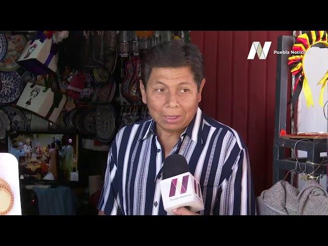 #SET #PueblaNoticias Bajan cortinas negocios del Parián