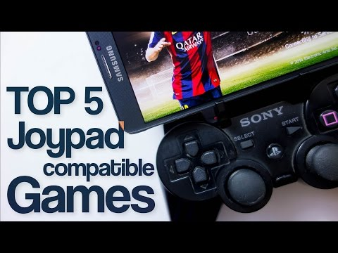 Top 5 Joypad-Compatible Android Games (2015)