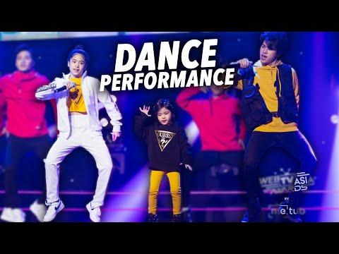 SIBLINGS Dance Performance!! | Ranz and Niana with Natalia