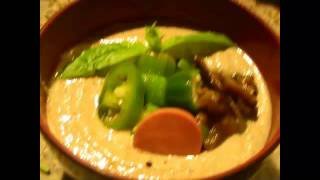 2012 Raw African Meals: Peanut Soup