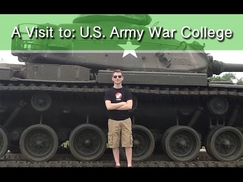 A Visit to: U.S. Army War College