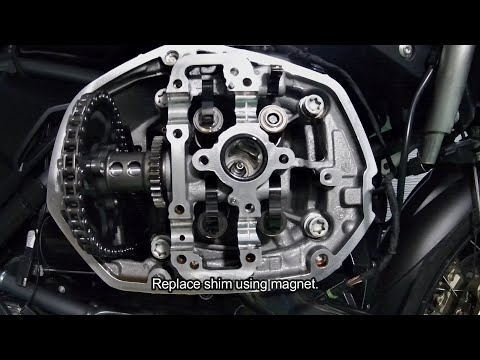 R1200GS LC Valve Clearance Adjustment