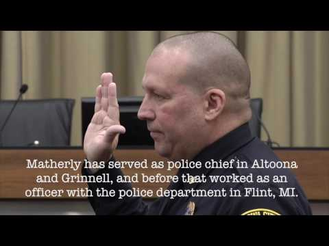 Police Chief Swearing-In Ceremony