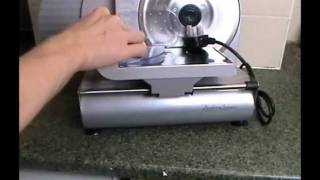 Andrew James Electric Precision Food Slicer 19cm Blade tested