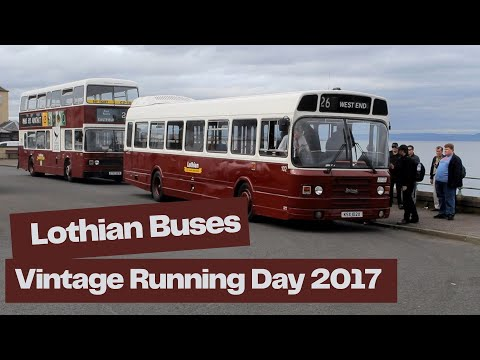 Lothian Buses Doors Open Day Event 2017 – Central Garage - Vintage Running Event - Edinburgh Buses