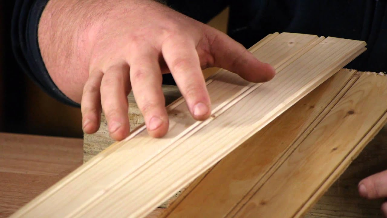 Pine Vs. Cedar For Interior Walls : Woodwork U0026 Carpentry   YouTube