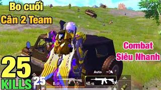 [PUBG Mobile] Mãn Nhãn Với Pha Combat Bo Cuối | Sấy Phát Chết Luôn 2 Team