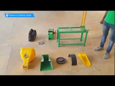 Installation Guide - Vidhata JF 2D Model Chaff Cutter
