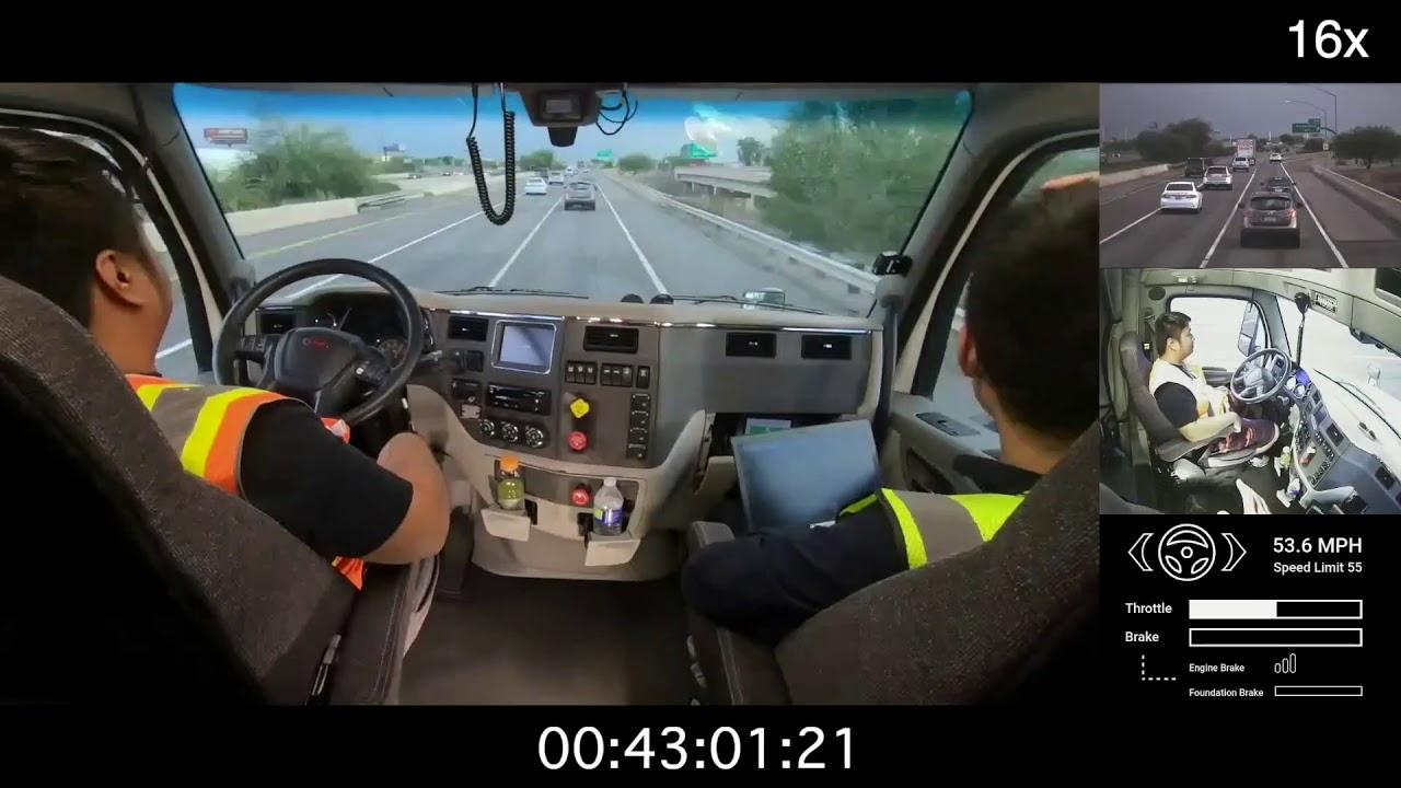 U S  Postal Service Testing Mail Transport in Self-Driving Semi Trucks